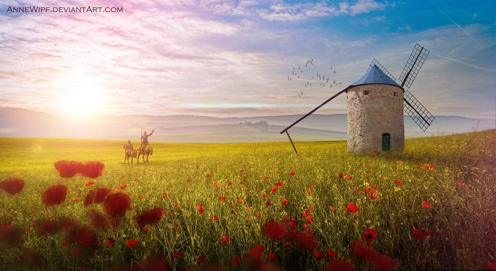 Don Quichote de la Mancha by annewipf