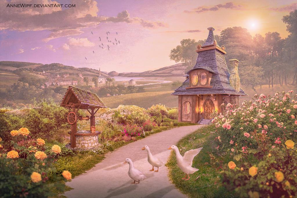 White Ducks Lodge by annewipf