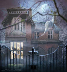 Haunted House by annewipf
