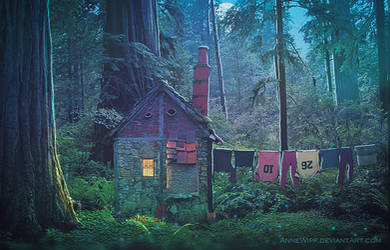 The House of the 7 Dwarves by annewipf