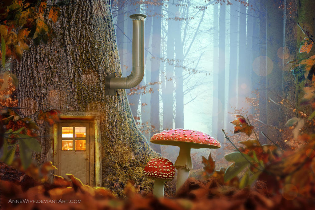House of Gnomes by annewipf