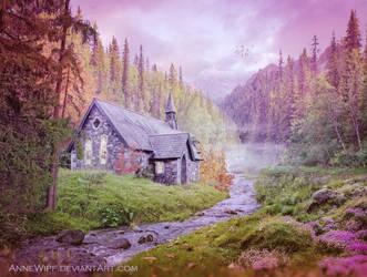 Early Morning Chapel by annewipf