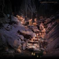 Dark cave by annewipf