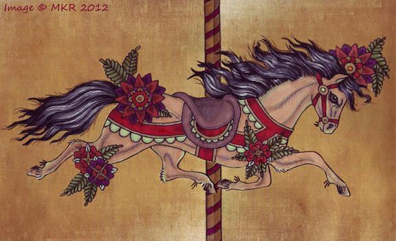 Gallery Image #4 - Tattooish Carousel Horse