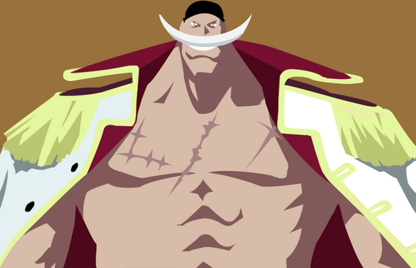 One piece shirohige minimalist by dglproductions on for Minimalist art pieces