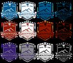 PWK - King of The Mountain Tournament Logo's