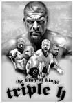 Triple H - Tribute Poster