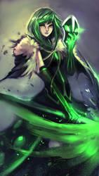 If Rubick is a girl by IMadeTeguh