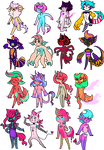 MONSTER POINT ADOPTS (0/16) CLOSED