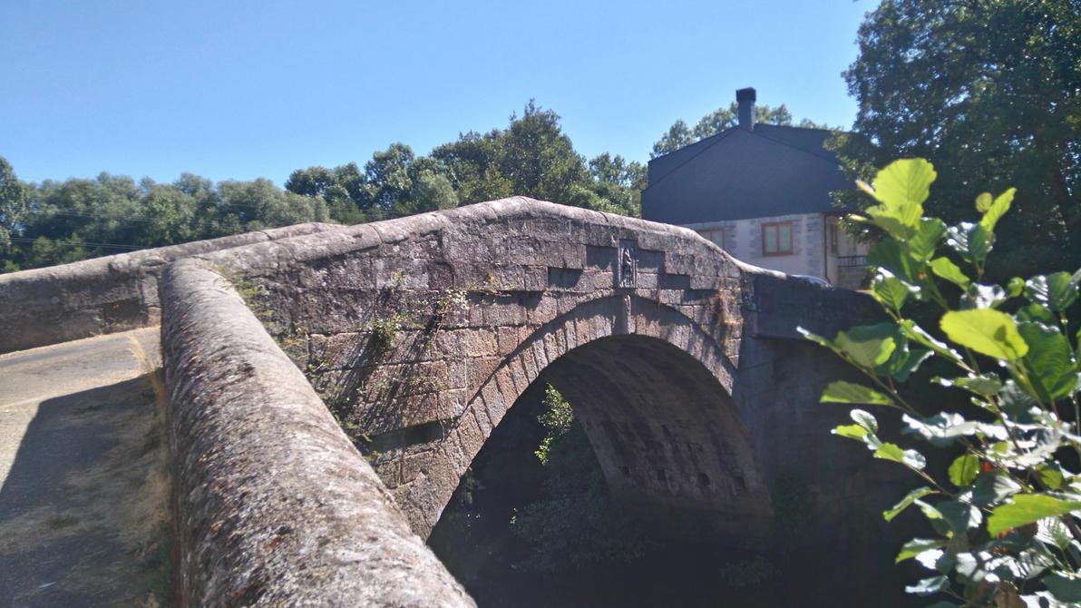 Puente en el pueblo de EL PUENTE DE SANABRIA. by panasqueira