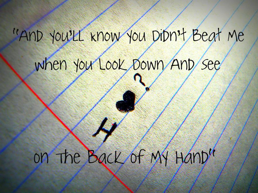 i heart question mark lyrics