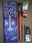 Tree In The Land Of The Blue Dragon
