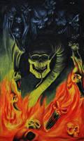 Darkness eat hell by Azraelangelo