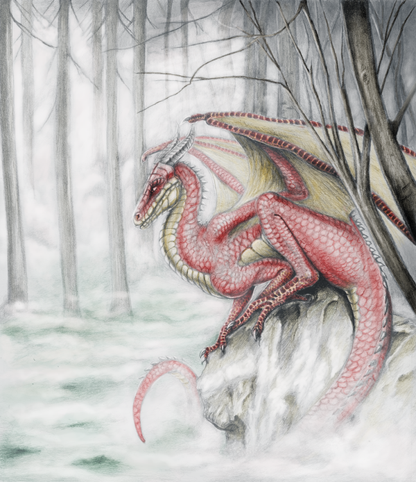 Zimny sarkan by Azraelangelo