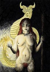 Carodejnica by Azraelangelo