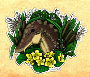 Swamp monster by Azraelangelo