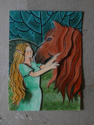 ACEO - Isidora and Aira