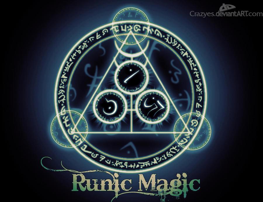 WallPaper Runic Magic by CrazyEs on deviantART