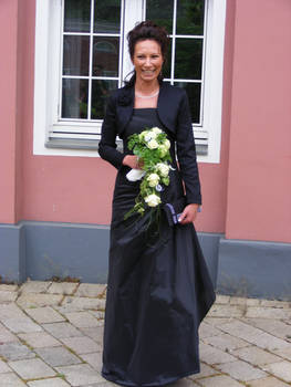 beautiful black bride