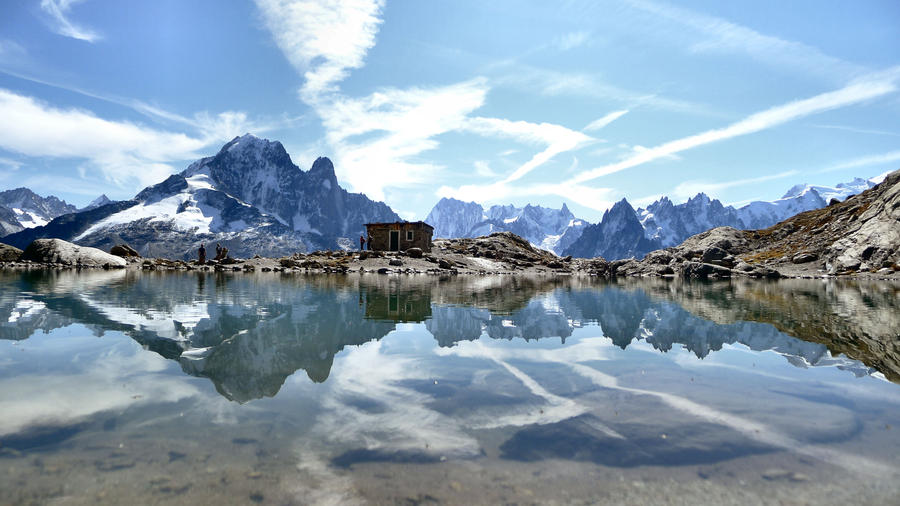 Lac Blanc, Chamonix by sonicdevil93