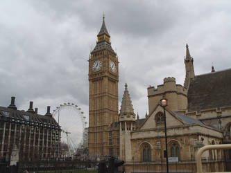 Big Ben by Sherezade