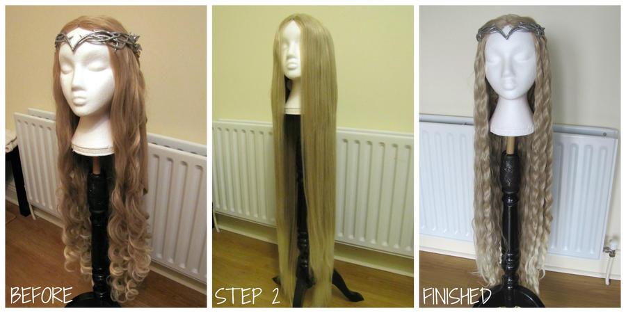 Galadriel wig by Anathiell by Anathiell