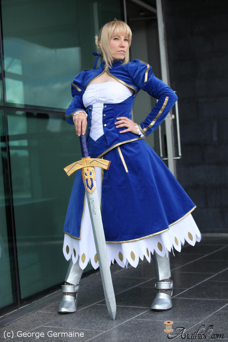 Saber cosplay - Fate Stay Night by Anathiell