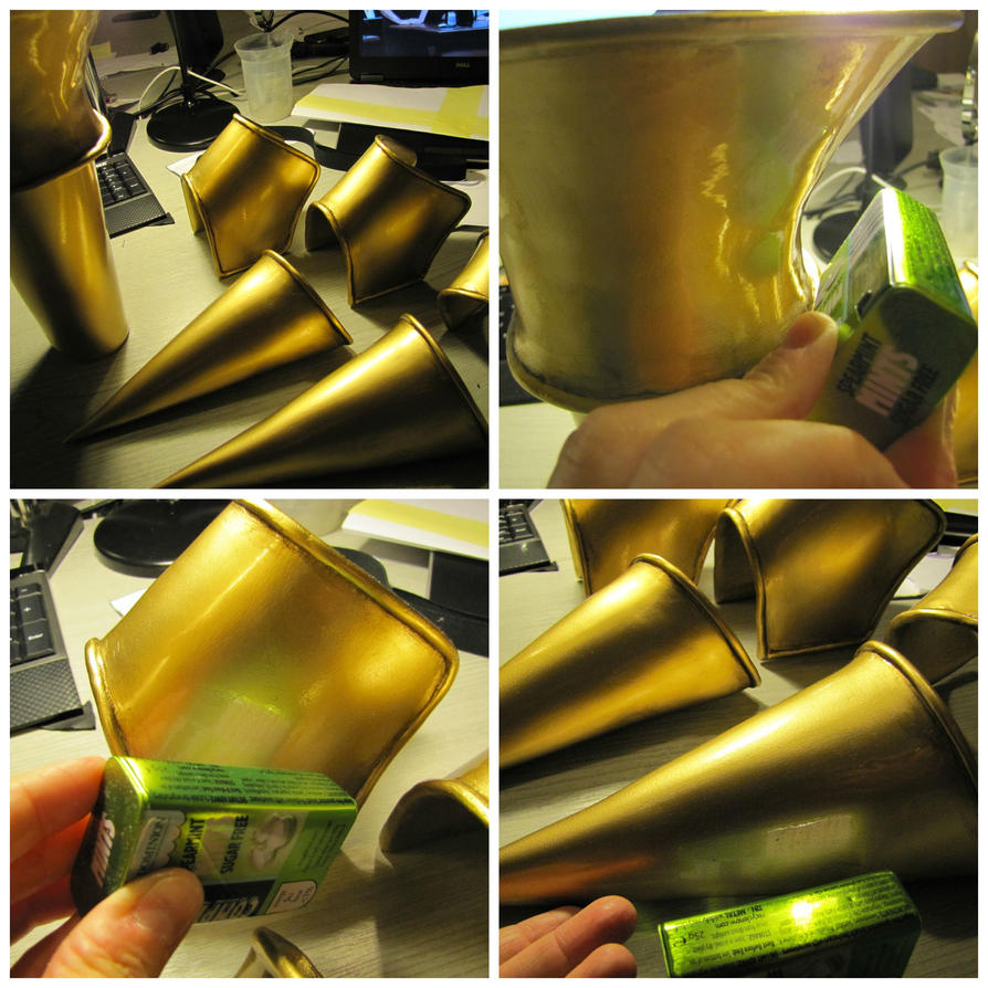 Smooth, shiny and glossy Worbla tutorial is here. by Anathiell