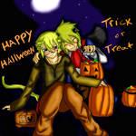 Happy Halloween by CrystalHeartAngel09