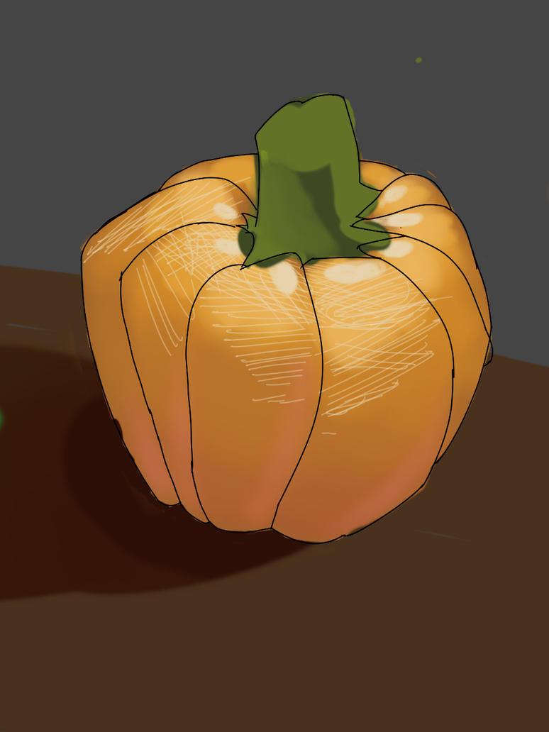 Pumpkin Sketchthis challenge  by Penlink
