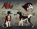 Mikes Reference sheet by Dachiia