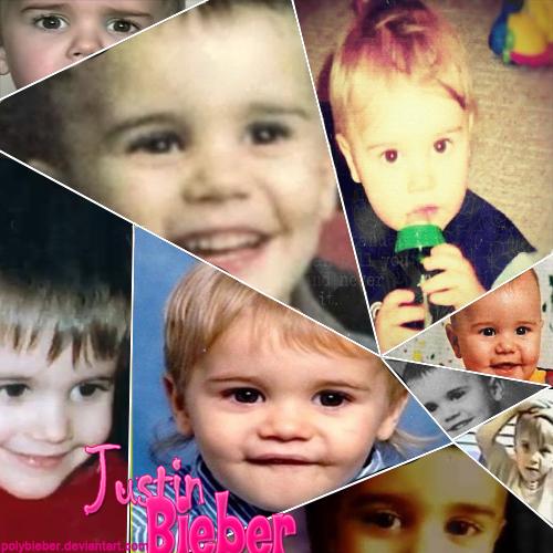 Justin Bieber Baby Picture Collage de Justin Bieber Baby