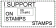 i support stamps on stamps on by RKM-fallendreams