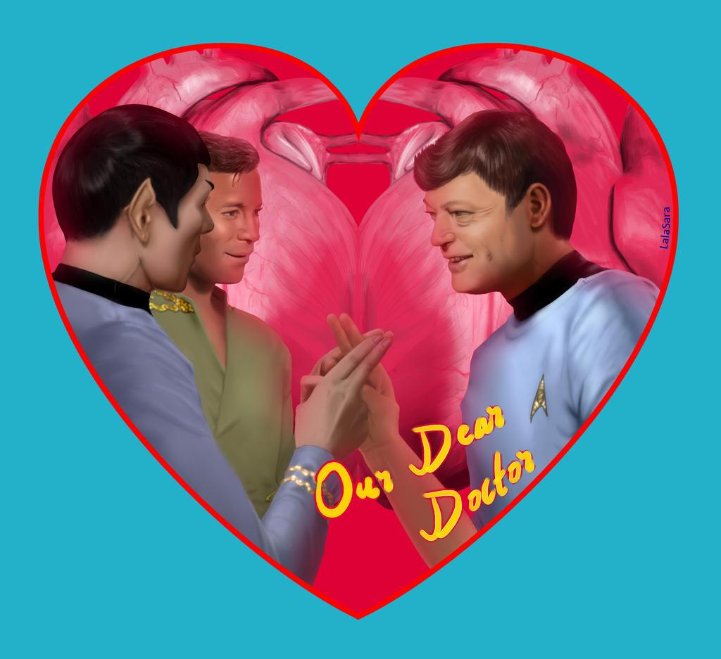 "Spock & James Kirk & Leonard ""Bones"" McCoy (Star Trek TOS)"