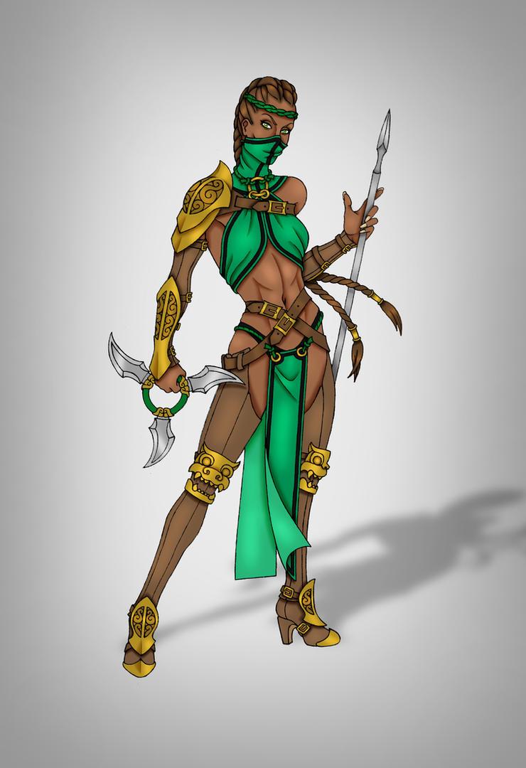 Jade (MKX) by CyanSoul
