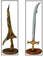 DrakeSword Scimitar(Dark Souls) by UshaKiran