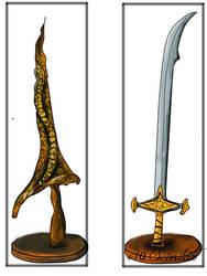 DrakeSword Scimitar(Dark Souls)