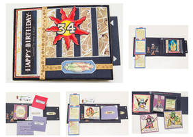 Dark Souls themed Bday card by UshaKiran