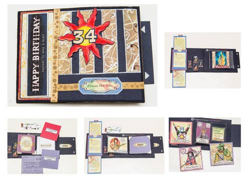 Dark Souls themed Bday card