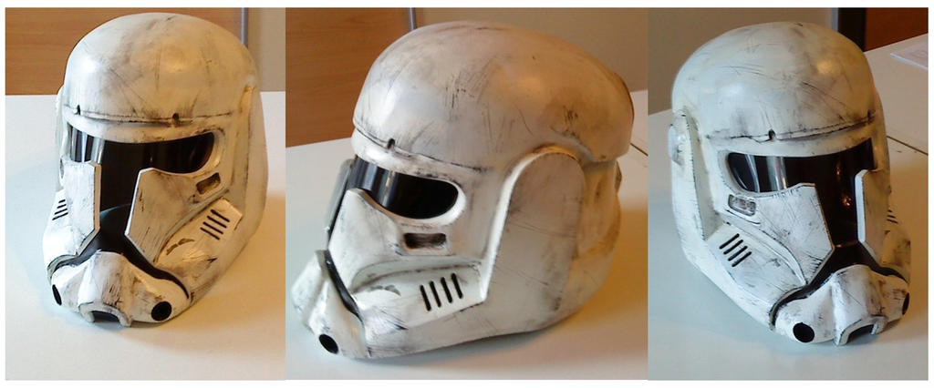 Imperial Commando Helmet by WulWhite