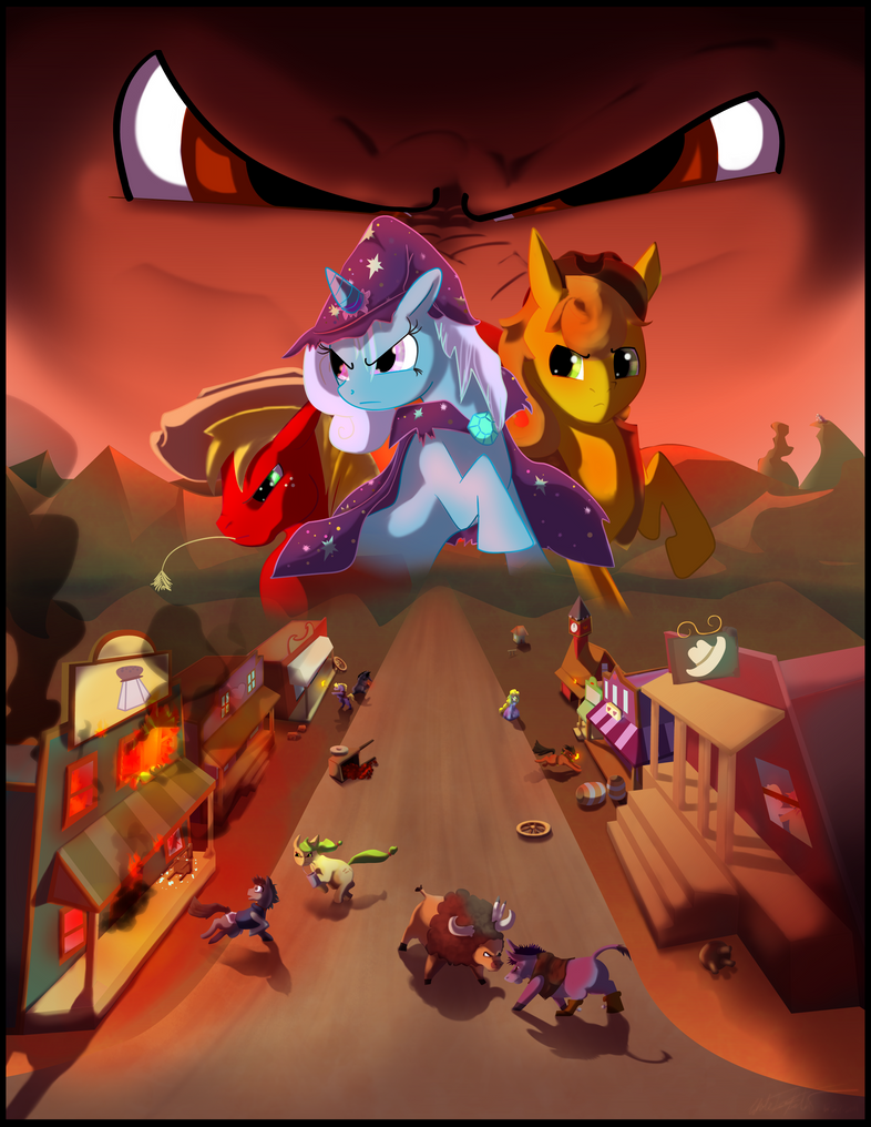 MLP Fan Art Cover Commission by whiteicepanther