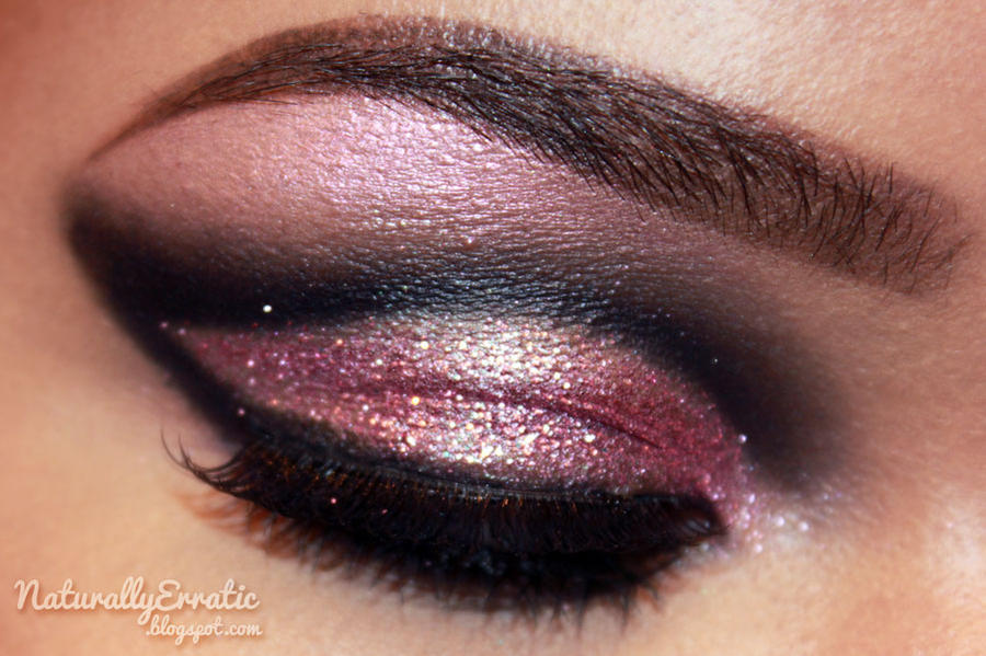 Glitterti Party Eye Makeup by NaturallyErratic