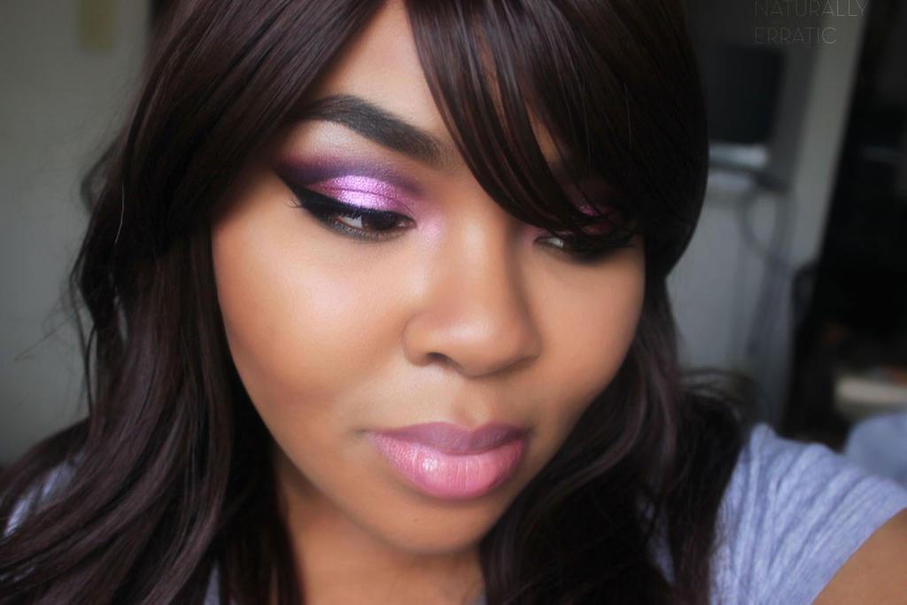 Purple Smokey Eye Makeup by NaturallyErratic