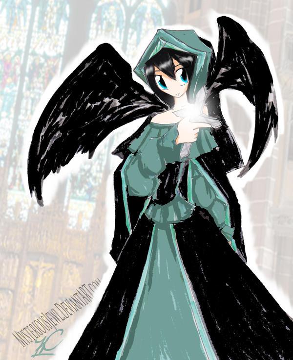 Angel by MysteriousJewl