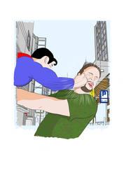 Superman vs Evil Gene