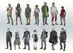 Character Line-up Part 2