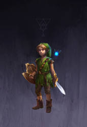 CHILD LINK by hubbleTea