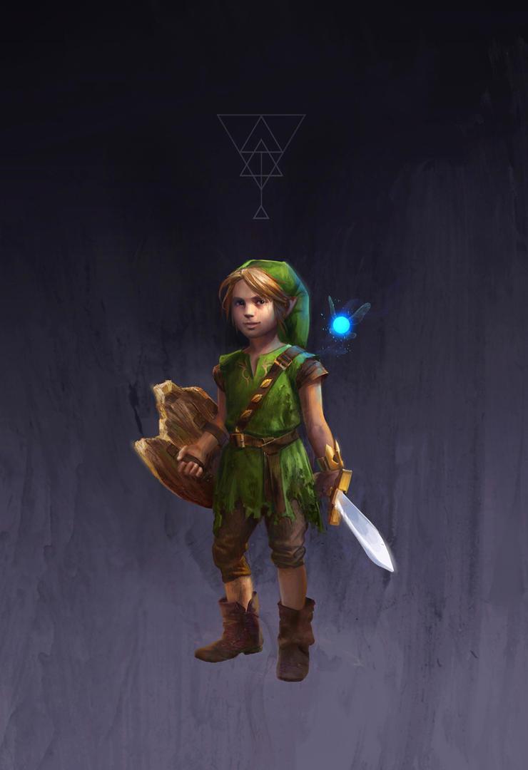 CHILD LINK by hubbleTea