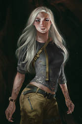 character Ro by hubbleTea