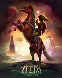 Ocarina of Time: Twenty Years by Tri-Starr